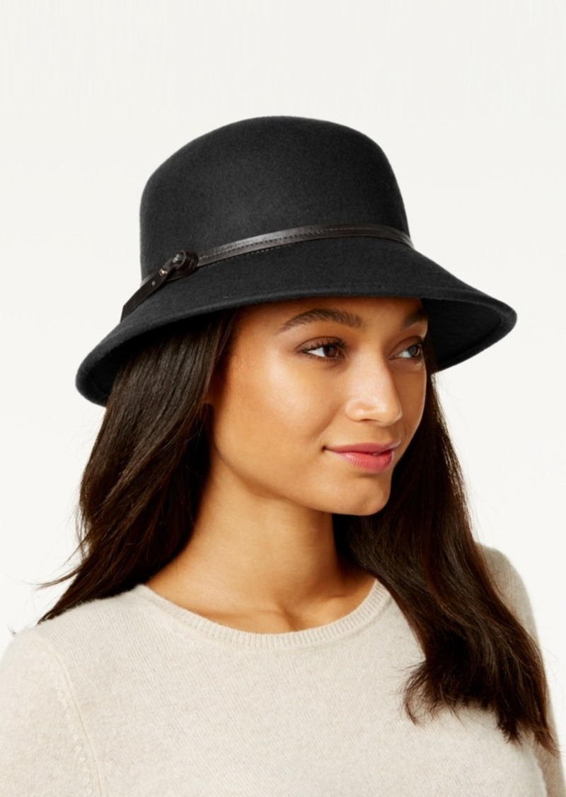 76239dce6220b0 Nine West Nine West Felt Trench Coat Hat | Misc Accessories