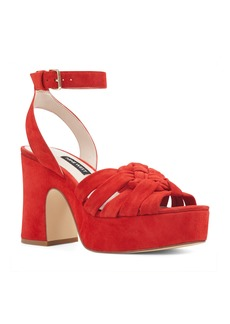 Nine West Fetuchini Platform Sandal (Women)
