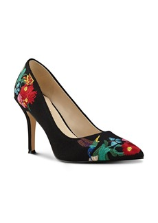 Nine West Flax Embroidered Pump (Women)