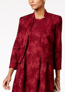 Nine West Floral-Jacquard Blazer
