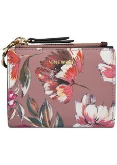 Nine West Floral Meadows Small Zip Wallet