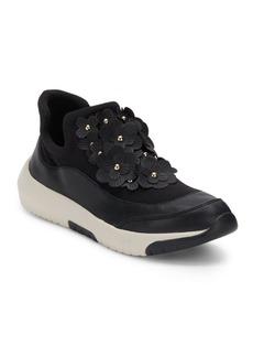 Nine West Floral Motif Slip-On Sneakers