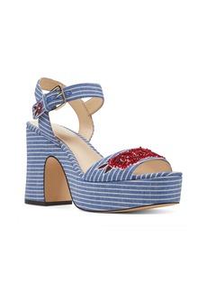 Nine West Fontayah Platform Sandal (Women)