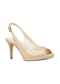 Nine West Gabrielle Peep Toe Slingback Pump (Women)