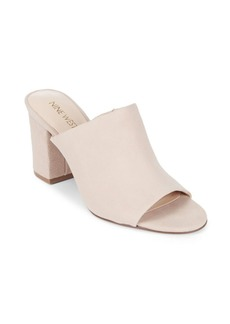 Nine West Gallahan Leather Mules