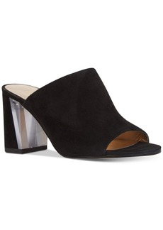 Nine West Gemily Block-Heel Mules Women's Shoes