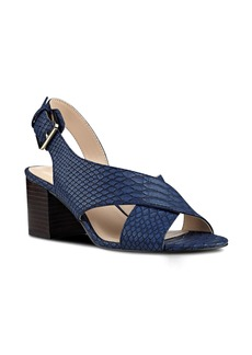 Nine West Going Steady Cross Strap Sandal (Women)