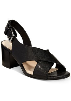 Nine West Goinstead Block-Heel Sandals Women's Shoes