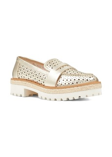 Nine West Gradskool Perforated Penny Loafer (Women)