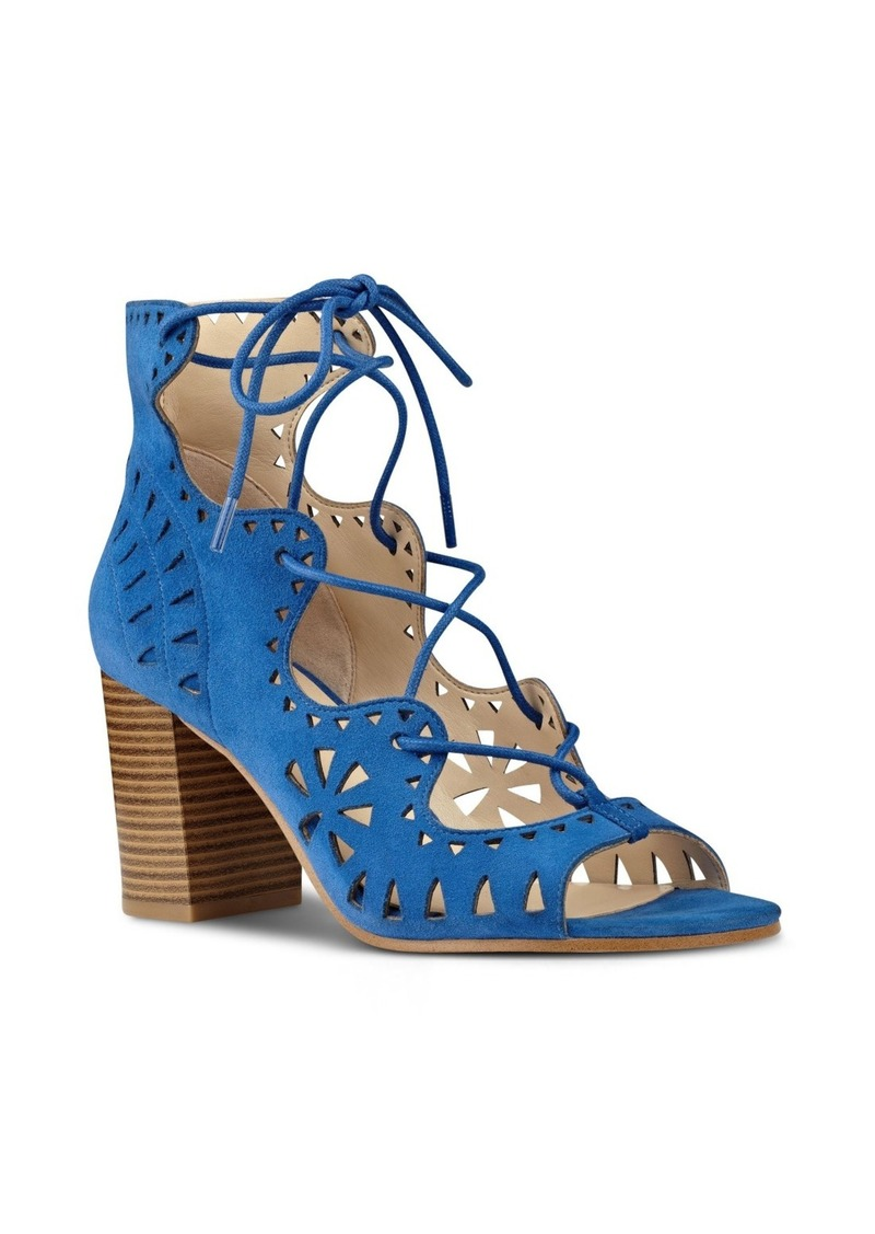 Nine West Gweniah Ghillie Lace Gladiator Sandal (Women)