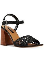 Nine West Gwenny Woven City Sandals Women's Shoes