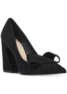 Nine West Haddriana Block-Heel Pumps Women's Shoes