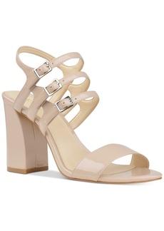 Nine West Hadil Block-Heel Strappy Sandals Women's Shoes