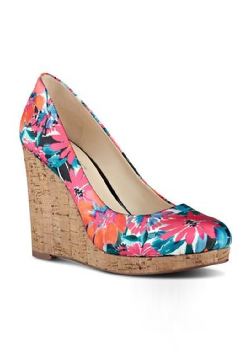 Nine West Halenia Platform Wedge Heels