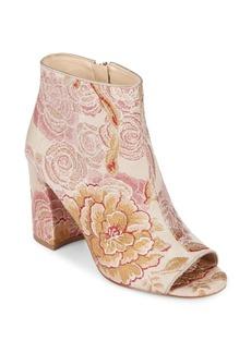 Nine West Haywood Textile Open Toe Booties
