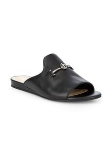 Nine West Heloise Leather Slides