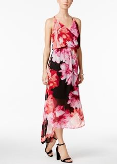 Nine West High-Low Maxi Dress