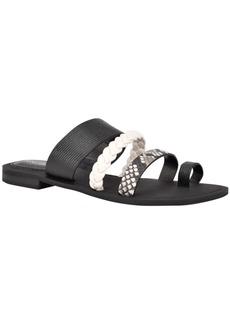 Nine West Hollah Flat Sandals Women's Shoes