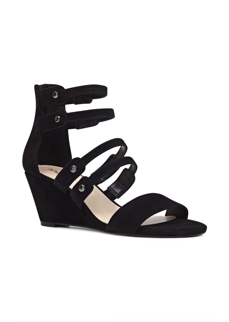 Black sandals nine west - Nine West Illusion Cage Sandal Women