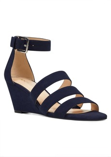 Nine West Ilookatu Ankle Strap Wedges