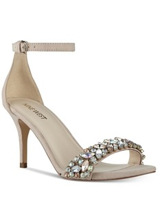 Nine West Innocent Embellished Evening Sandals Women's Shoes