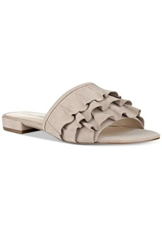 Nine West Ivarene Slip-On Flat Sandals Women's Shoes