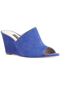 Nine West Janissah Slip-On Wedge Sandals Women's Shoes
