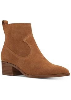 Nine West Javan Western Booties Women's Shoes