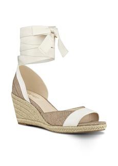 Nine West Jaxel Ankle Tie Wedge Sandal (Women)