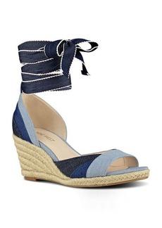 Nine West Jaxel Open Toe Wedge Sandal