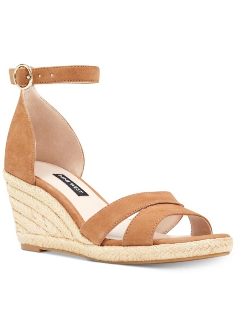 32020263a30 Nine West Nine West Jeranna Wedge Sandals Women s Shoes