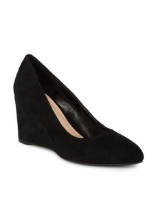 Nine West Jessa Suede Wedge Heels