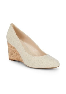 Nine West Jessa Textile Wedge Heels
