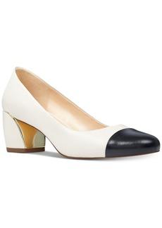Nine West Jineya Block-Heel Pumps Women's Shoes