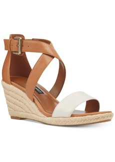 Nine West Jorgapeach Wedge Sandals Women's Shoes