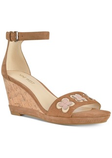 Nine West Julian Two-Piece Platform Wedge Sandals Women's Shoes