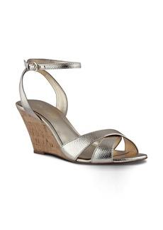 Nine West Kami Ankle Strap Wedge Sandal (Women)