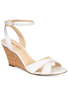 Nine West Kami Two-Piece Wedge Sandals Women's Shoes