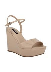 Nine West Kinda Platform Wedge Sandal (Women)