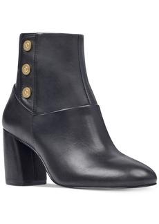 Nine West Kirtley Block-Heel Booties Women's Shoes