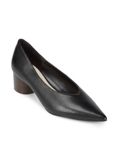 Nine West Leather Slip-On Pumps
