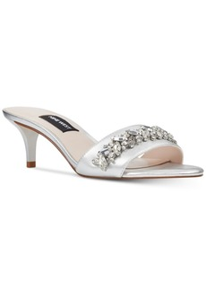 Nine West Lelon Jeweled Sandals Women's Shoes