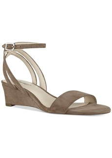 Nine West Lewer Wedge Sandals Women's Shoes