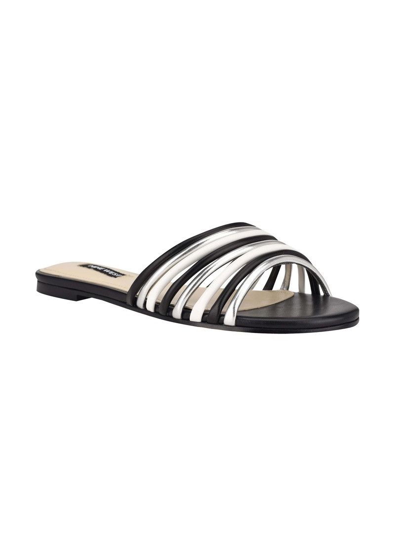 Nine West Links Strappy Slide Sandal (Women)