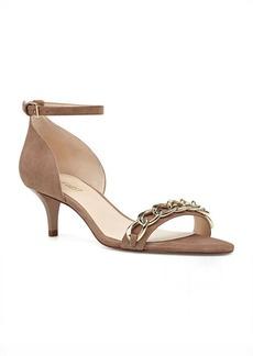 Nine West Lioness Kitten Heel Open Toe Sandals
