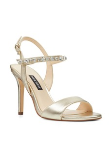 Nine West Madison Crystal Embellished Sandal (Women)