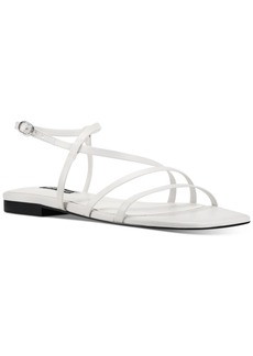 Nine West Mani Strappy Flat Sandals Women's Shoes