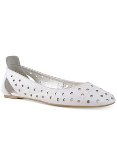 Nine West Marie Perforated Ballet Flats Women's Shoes