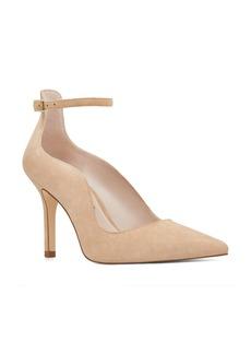 Nine West Marquisha Scalloped Ankle Strap Pump (Women)