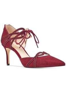 Nine West Mayef Lace-Up Dress Pumps Women's Shoes